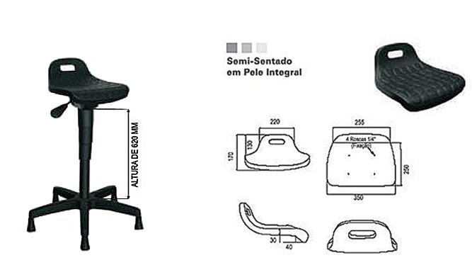 Semi sentado - modelo 2
