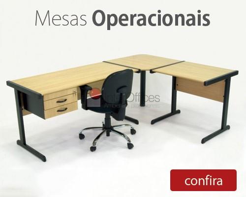 Mesas Operacionais - Móveis Para Escritório