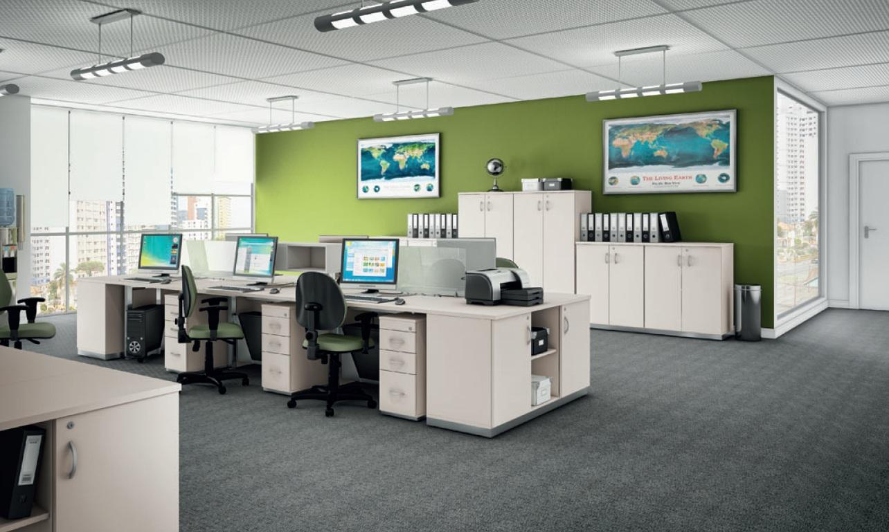 Móveis para escritório – Mobiliário modular