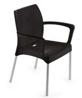 cadeiras para escritorio preta
