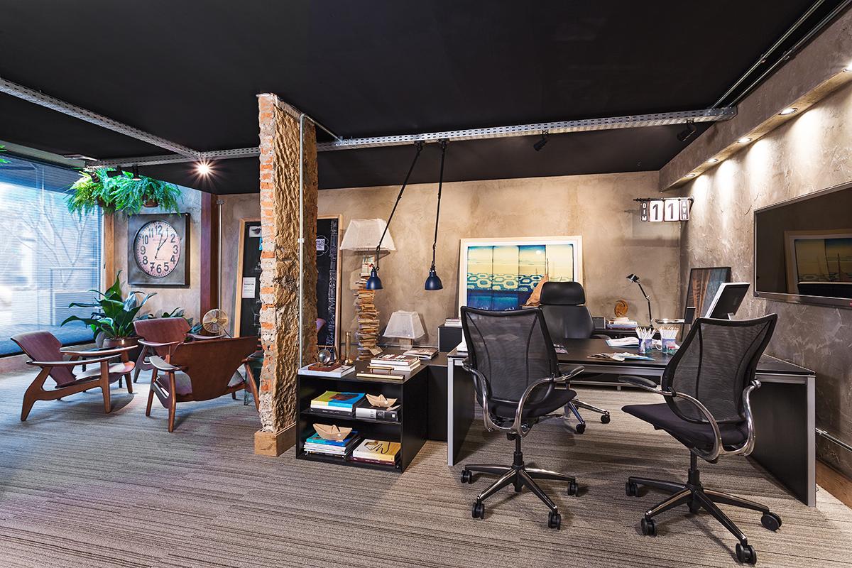 para você se inspirar Inter Offices Móveis para Escritórios SP #3A6F91 1200x800