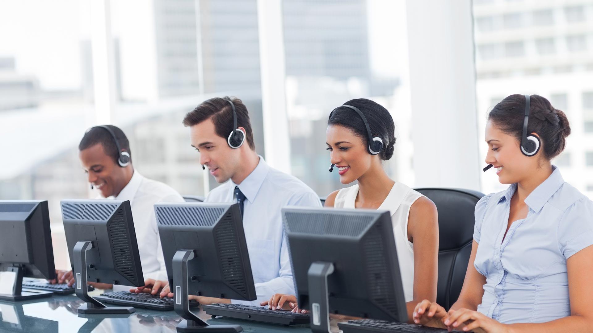 Móveis para escritório – Organização de Call Center