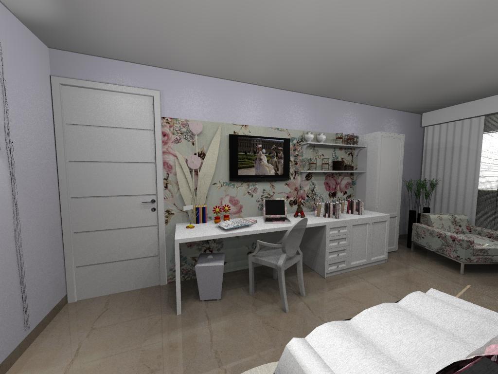 Móveis para escritório – Estilo provençal