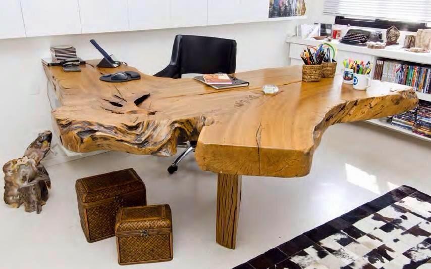 M veis para escrit rio mobili rio r stico para - Escritorios rusticos de madera ...