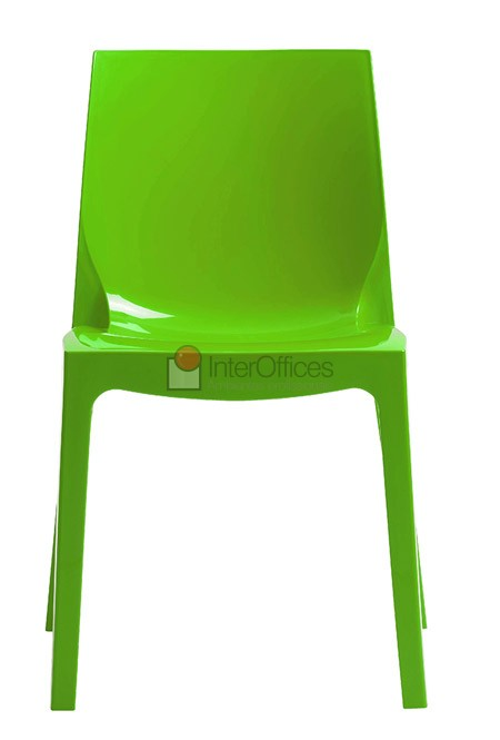Poltrona decorativa Ice verde