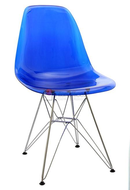 Poltrona decorativa OR 1101 azul