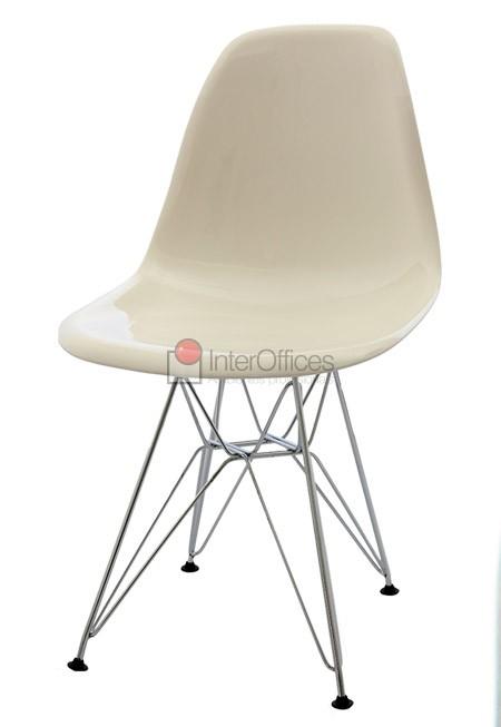 Poltrona decorativa OR 1101 branca