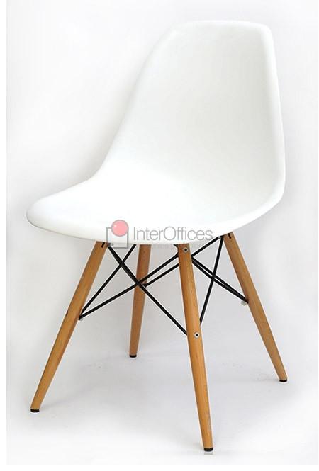 Poltrona decorativa OR 1102 madeira branca