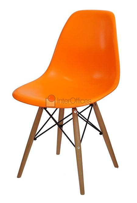 Poltrona decorativa OR 1102 madeira laranja