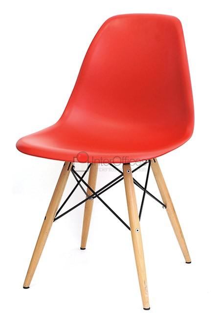Poltrona decorativa OR 1102 madeira vermelha