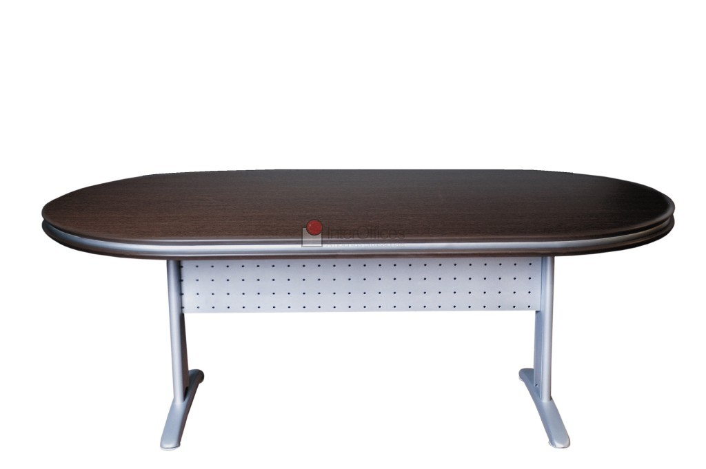 Mesa para reunião oval 3