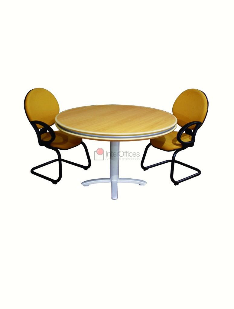 Mesa reunião redonda 3