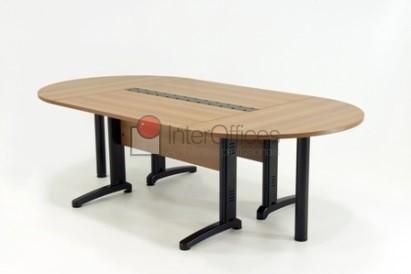 Mesa para reunião oval 2