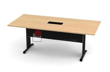 Mesa para reunião retangular 3