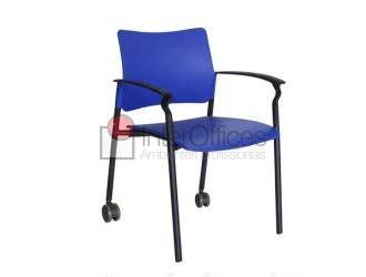 Component rodízio traseiro azul