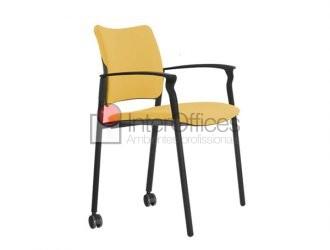Component rodízio traseiro amarela