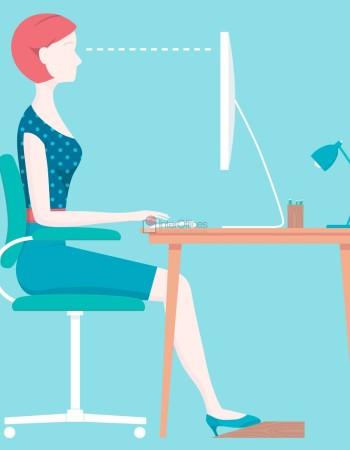 Ergonomia e produtividade no escritório